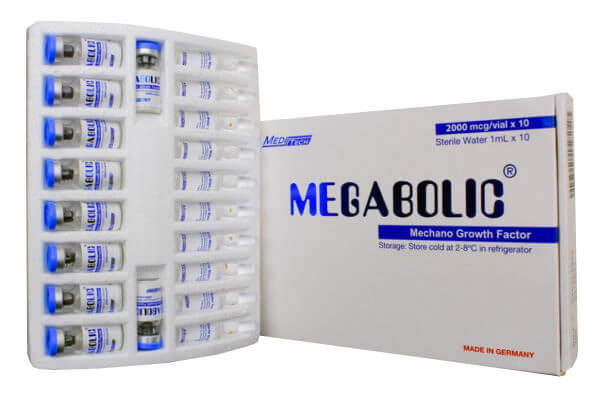 MEGABOLIC Mechano Growth Factor 2000mcg / vial 10vials / box - Meditech
