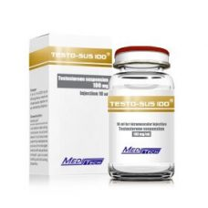 TESTO-SUS-100 Testosterone suspension 100mg / ml 10ml / vial - Meditech