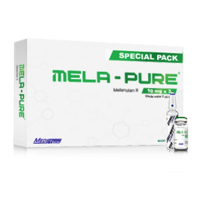 MELA-PURE Special Pack Melanotan II 10mg / vial 3vials / box - Meditech