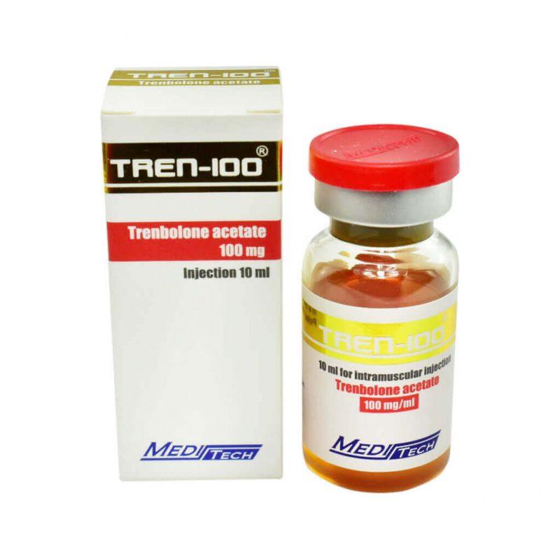TREN-100 Trenbolone acetate 100mg / ml 10ml / vial - Meditech