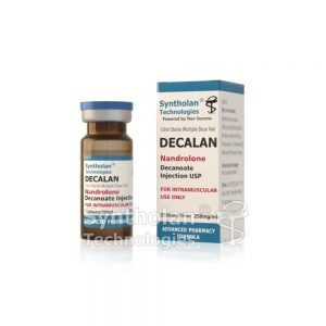 DECALAN Nandrolone Decanoate 주입 USP 250mg / ml – Syntholan Technologies