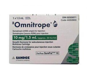 Omnitrope -10mg – 30IU – Sandonz