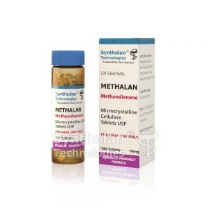 METHALAN Methandienone Tablets USP 100Tab-10mg - Syntholan Technologies