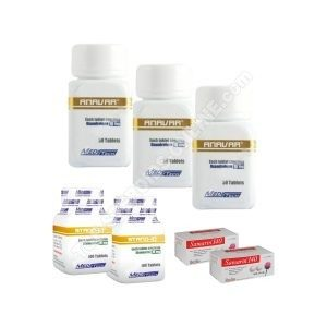 Pack perte de poids (ORAL) MEDITECH- ANAVAR + STANOZOLOL + SAMARIN (6 semaines)