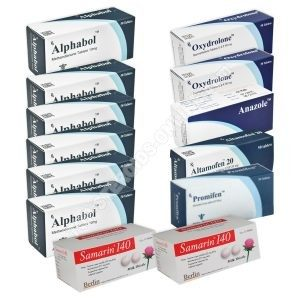 Ultimate Mass Pack - Alphabol + Oxydrolone - Oral Steroids (8 weeks) Alpha-Pharma