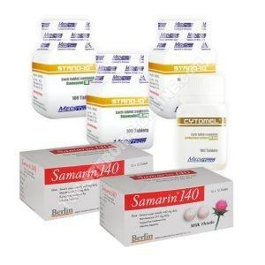Pack sèche – Stanozolol + T3 Cytomel – Stéroides oraux (8 Semaines) (Meditech)