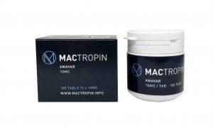 Anavar 10mg 100 tabs - Mactropin