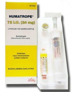 Humatrope (Somatropin) – 72 IU (24 mg) – Eli Lilly
