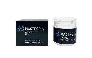 Anadrol 25mg 100tabs - Mactropin