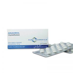 Anadrol (oxymetholone) 50mg / sekmeler 40 sekmeleri - Blister - Euro Eczaneleri