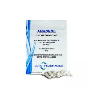 Anadrol (oxymetholon) 50mg / tabs 40 tabs - Baggies - Euro Lékárny