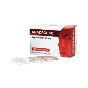 ANADROL Oxymetholone compresse 50mg / 100tabs - Omega Meds