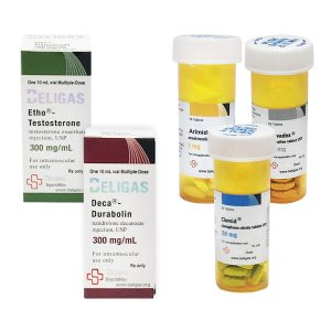 Mass Gain Pack (INJECT) - Enanthate 250 + DECA (8 Wochen) Beligas Pharma