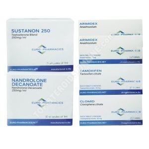 PACK MASS LEVEL I (INJECT) – SUSTANON 250 + DECA 250 (8 WEEKS) Euro Pharmacies