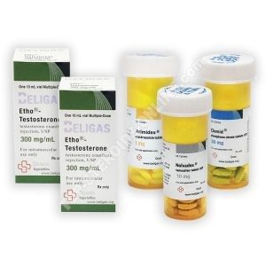 팩 대량 (주입)-ENNUMHATE 250 + PROTECTION + PCT (8 WEEKS) Beligas Pharma