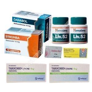 Pacchetto di aumento di peso a secco - Steroidi orali Dianabol + Winstrol (settimane 4) Omega Meds