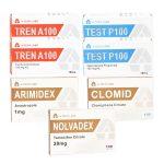 PACK MUSCULAR LEAN (INYECTO) - PROPIONADO DE TESTOSTERONA + ACETATO DE TRENBOLONA + PCT (6 WEEKS) A-Tech Labs