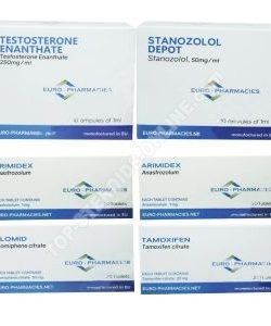 PAQUETE LEAN MUSCLE LEVEL I (INYECTO) - ENANTHATE + WINSTROL + PROTECTION + PCT (8 WEEKS) Euro Pharmacies