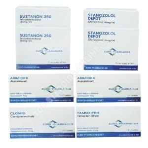 ПАКЕТ LEAN MUSCLE LEVEL II (INJECT) - Сустанон + Станозолол (8 WEEKS) Евро Аптеки