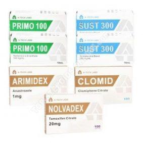 Pack prise de masse sèche LEVEL II (INJECT) A-TECH LABS – SUSTANON + PRIMOBOLAN + PCT (8 semaines)