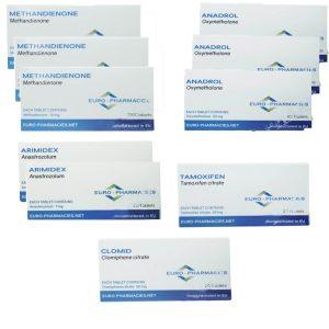 Balíček Ultimate Mass gain - Dianabol + Anadrol - perorální steroidy (8 týdnů), lékárny euro