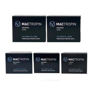 Balíček hromadného příjmu - orální steroid Anadrol Oxymetholone (4 týdny) Mactropin