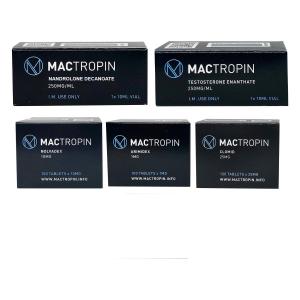 Πακέτο μαζικής αύξησης (INJECT) - Enanthate 250 + DECA (8 εβδομάδες) Mactropin