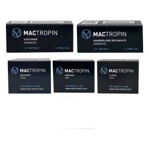 Kütle Paketi SEVİYE I (ENJEKT) - SUSTANON 250 + DECA-DURABOLIN 250 (8 hafta) Mactropin
