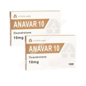 PTO Pack - Anavar - 6-Wochen - Orale Steroide (A-Tech Labs)