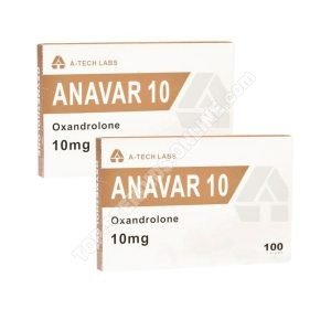 PTO Pack - Anavar - 6-Wochen - Orale Steroide (A-Tech Labs)
