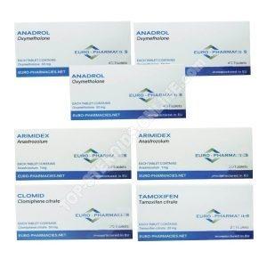 Pack taking mass - oral steroid Anadrol (4 weeks) Euro Pharmacies