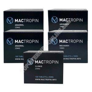 Пакет с массой - пероральный стероид Анадрол Оксиметолон (4 недели) Мактропин