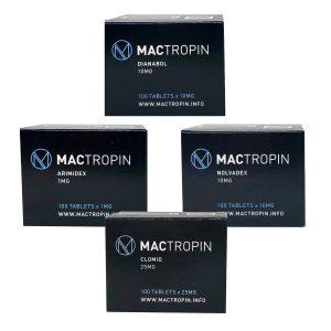 Kütle kazanç paketi (SÖZLÜ) - DIANABOL + KORUMA + PCT (4 hafta) Mactropin