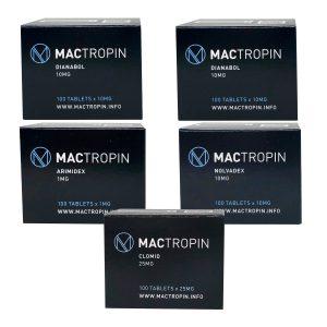 Mass Gain Pack (από του στόματος) - Dianabol (6 εβδομάδες) Mactropin