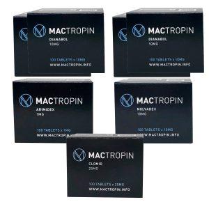 Packungsmasse (ORAL) - DIANABOL + PCT (8 Wochen) Mactropin