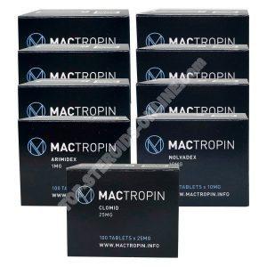 Dry mass gain pack - oral steroids Dianabol + Winstrol (8 weeks) Mactropin