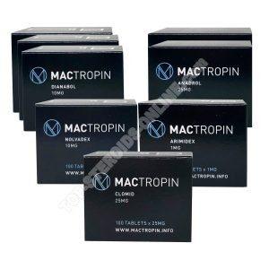 MACTROPIN Ultimate Mass Pack - دينابول + أنادرول - المنشطات عن طريق الفم (أسابيع 8)
