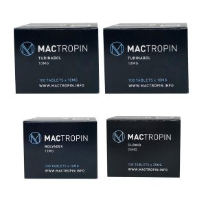 PACK MUSCLE SEC (ORAL) MACTROPIN – TURINABOL + PCT