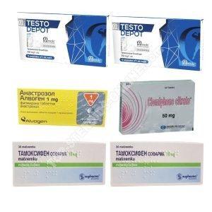 PACK MASS (INYECTA) - ENANTHATE 250 + PROTECCIÓN + PCT (8 WEEKS) Omega Meds