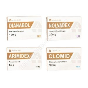 Packen mit Masse (ORAL) A-TECH LABS - DIANABOL + PCT (4 Wochen)