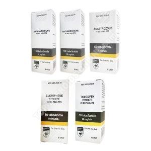 Pakiet przyrostu masy (DOUSTNY) HILMA - DIANABOL + PCT (6 tygodnie)