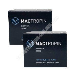 Pack prise de force – Anavar – 6 semaines – Stéroides oraux (Mactropin)