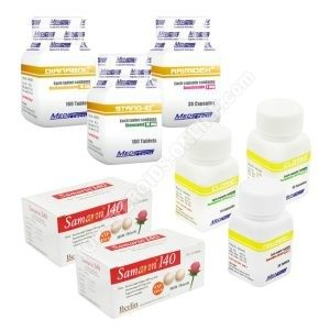 Pack prise de masse sèche – Stéroides oraux Dianabol + Winstrol (4 semaines) Meditech