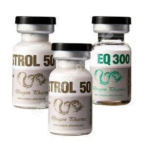 Pack endurance – Boldenone + Winstrol – Stéroides injectables – Dragon Pharma