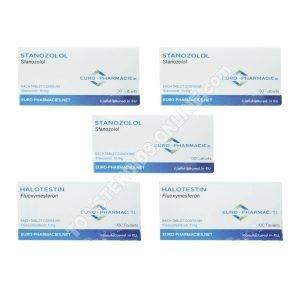Endurance Pack - Halotestin + Winstrol - Oral Steroids Euro-Apotheken