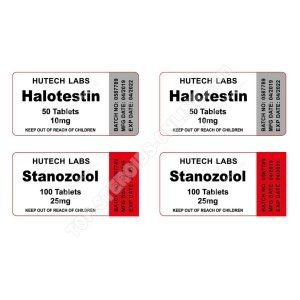 Endurance pack - Halotestin + Winstrol - Oral steroids Hutech labs