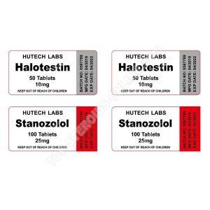 Pack endurance – Halotestin + Winstrol – Stéroides oraux Hutech labs