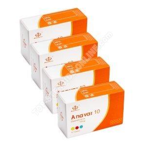 Pacote de tomada de força - Anavar - Semanas 6 - Esteróides orais (Maha Pharma)