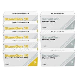 Στεγνό πακέτο - Myogen - StanoGen + ΠΡΟΣΤΑΣΙΑ - Στεροειδή από του στόματος (6 εβδομάδες)