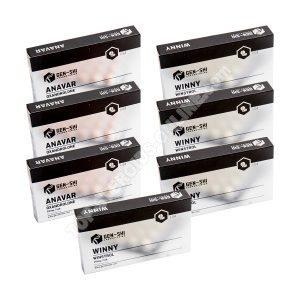 Trockenpackung - Orale Steroide Anavar + Winstrol (6 Wochen) Genshi Labs